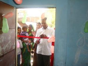 Inauguration of Nirmal Jyoti Tailoring centre, sanjay nagar